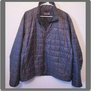 Patagonia Men's Nano Puff Jacket Forge Gray Large